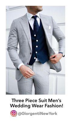 Grey Suit Blue Tie, Light Grey Suit Men, Grey Slim Fit Suit, Mens Slacks, Mens Suits, Mens Casual Dress Outfits, Suit Drawing, Mens Clothing Styles, Men's Clothing