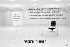 El pensamiento ilusorio (en inglés wishful thinking) es el proceso de pensamiento, deducción, conclusión y toma de decisiones basadas en lo que sería más placentero de imaginar, en vez de comprobarlas y/o fundamentarlas en la evidencia o racionalidad. Así, el pensamiento ilusorio se apoya directamente en las emociones.