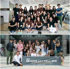L'équipe milon de Corée