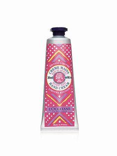"""L'Occitane """"Desert Rose"""" hand cream, $10 at loccitane.com"""