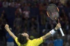 スイス室内テニスシングルス準決勝で錦織選手が ジレミュラーを破り年ぶりに決勝に進出しました ここまでくるともう優勝が見えてきましたね() 決勝戦も大注目ですね tags[海外]