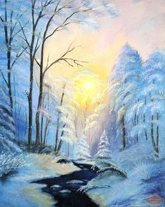 Oil Painting With A Palette Knife Canvas Paintings For Sale, Oil Painting For Sale, Online Painting, Oil Painting On Canvas, Painting Art, Oil Painting Basics, Oil Painting Materials, Oil Painting For Beginners, Watercolor Landscape