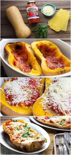 Butternut Squash Lasagna #muirglen