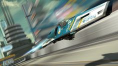Wipeout racing #WipEout #Feisar