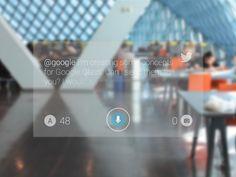 Google Glass - Twitter App (WIP)