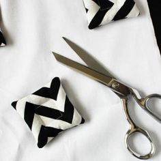 Ditch the pins and save time when sewing by making a set of pattern weights to use when cutting out projects.