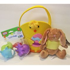 Add Your Own Candy Chick Easter Basket, Mini Bunny - Toddler Boy