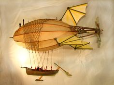airship steampunk | Anastasia02 Steampunk Airship Anastasia in paper art with steampunk ...