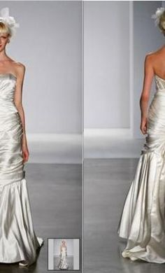 New With Tags Melissa Sweet Wedding Dress Noel, Size 4  | Get a designer gown for (much!) less on PreOwnedWeddingDresses.com
