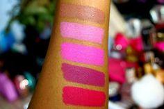 ColourPop Matte X Lippie Stix Swatches 💄💋