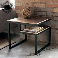 Give Your Rooms Some Spark With These Easy Vintage Industrial Furniture and Design Tips Do you love vintage industrial design and wish that you could turn your home-decorating visions into gorgeous reality? Industrial Design Furniture, Metal Furniture, Furniture Styles, Rustic Furniture, Modern Furniture, Furniture Design, Industrial Bookshelf, Industrial Office, Industrial Style