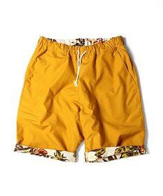rehacer / rehacer : Reversible ALOHA shorts(パンツ)