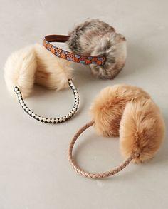 faux fur earmuffs #anthrofave  http://rstyle.me/n/sr4vmpdpe