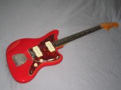 Fender Jazzmaster (Dakota Red refinish)