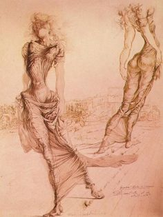 "Salvador Dali (1904-1989) ""Gradiva, She who Advances"" (1939)"