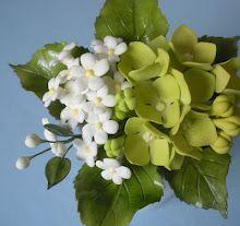 Hydrangea Gumpaste Flower tutorial