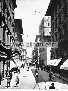 1800: Via Calimala & Via Roma