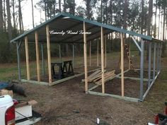 American Steel Carports   By  Hall Family Poultry - Jim's Farm Stand   American Steel...