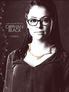 Orphan Black - Cosima, love this necklace