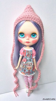 OOAK Blythe Doll Zoe Original Doll by SweetCrate
