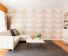 Decorar a parede com papel contact