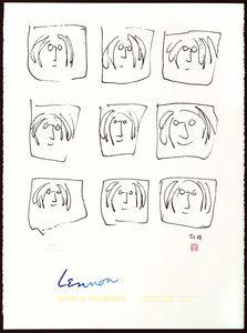Imagine The Art Of John Lennon Artprice Ads LENNON BROADHURST