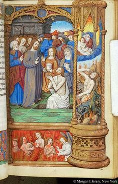 Book of Hours, MS H.5 fol. 102r - Images from Medieval and Renaissance Manuscripts - The Morgan Library & Museum