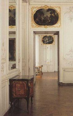 Madame de Pompadour's apartments at Versailled