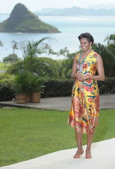 Michelle Obama at a APEC conference in 2011 in Hawaii!!