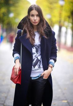 oversized collar and lapel