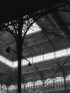 Robert Doisneau // Estructura métallique pavillon Baltard, 1969. (Galerie: Les Halles)