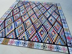 A Quilt Finish: Rectangle Wrangle