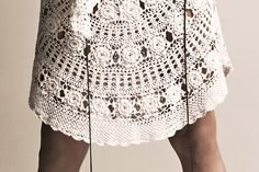 Zeus+Δione- skirt from summer collection - hand crochet Hand Crochet, Sewing Ideas, Style Inspiration, Embroidery, Detail, Lace, Amazing, Skirts, Summer