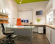 White Fur Executive Office Furniture Home Office Design Home Office Ideas