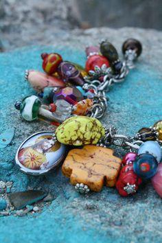 Bohemian charm bracelet     #bohemian #jewelry #accessories