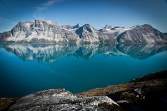 A view from Base Camp, Storo Island, Greenland.