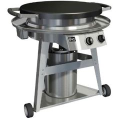 Evo Professional Classic Wheeled Cart Flattop Gas Outdoor Grill - Propane Review