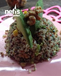 Protein Deposu Kinoa Salatası Grains, Protein, Food, Meal, Eten, Meals, Korn
