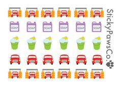 car wash stickers by StickyPawsCo on Etsy (null)