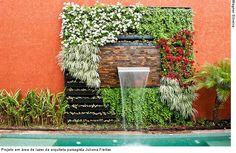 Projeto em área de lazer da arquiteta paisagista Juliana Freitas