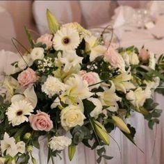 Composition table d 39 honneur mariage compositons - Petite composition florale pour table ...