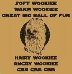 Wookie... got Big Banged.