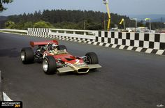 Jochen Rindt at the German Grand Prix 1969