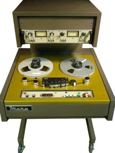 "MARA MACHINE 1/4"" TAPE REEL TO REEL #GearShack"