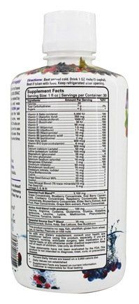 Essential Source Liquid Vitamin Max Effect Natural Berry Blast  30 Oz >>> Continue to the product at the image link. (This is an affiliate link) #VitaminsSupplements
