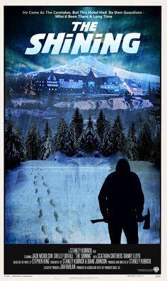Gerade auf www.blairwitch.de gefunden, ich kannte dieses wirklich schöne The Shining Poster bis jetzt noch gar nicht.