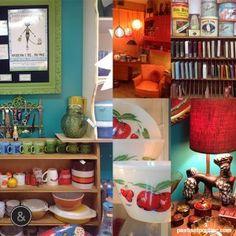 Our boutique in Montreal. Bookcase, Shelves, Boutique, Home Decor, Retro Vintage, Lingerie, Shelving, Decoration Home, Room Decor