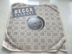 Red Foley Candy Kisses 78 RPM Decca Record Tennessee Border #CowboyCountry