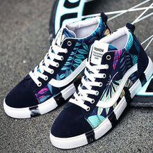 Homens Skate Sapatos Sapatos de desporto tênis de lona amante Athletic sapatos de caminhada Ao Ar Livre Alta Superior Respirável Clássicos botas de impressão(China (Mainland))
