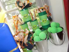 Games at an Angry Birds Party #angrybirdsparty #games